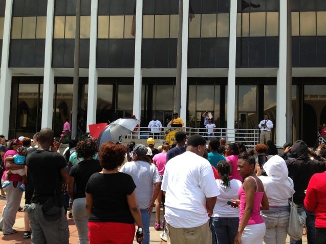 Peaceful rally - Columbus GA